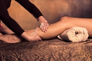 Pagashampi - massage jambes lourdes