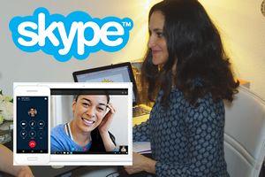 Consultation à distance par skype