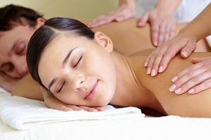 massage duo en couple lotus vedhyana