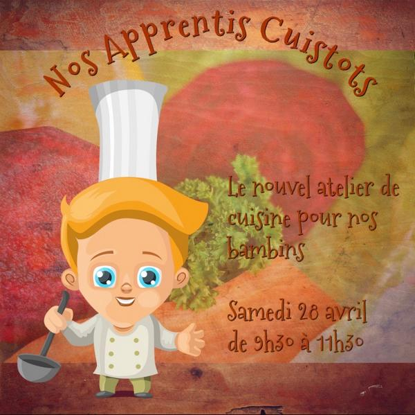 cours cuisine bambins