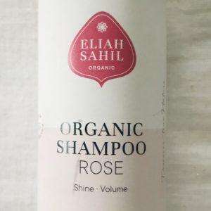 Organic shampoo rose