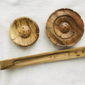 Socles en bois