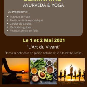 Séminaire Ayurveda & Yoga – 1 & 2 Mai 2021